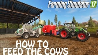 How To Feed The Cows & Get Better Productivity in Farming Simulator 2017 | PS4 | Xbox One