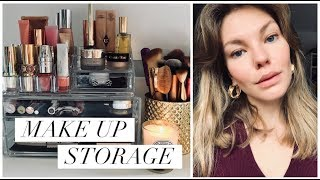 Make Up Storage & Declutter