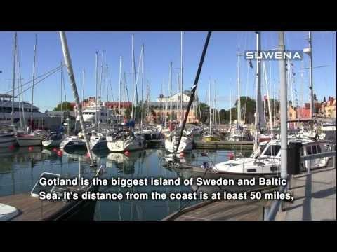 Sailing to Gotland, Sweden