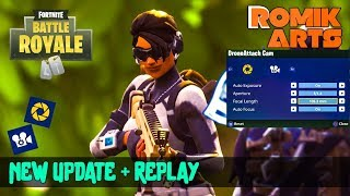 Fortnite Replay System | Cinematic | Best Way to use Replay System | Pro video export
