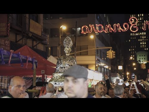The changing face of San Gennaro