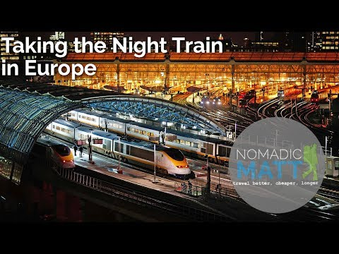 Taking the Night Train in Europe