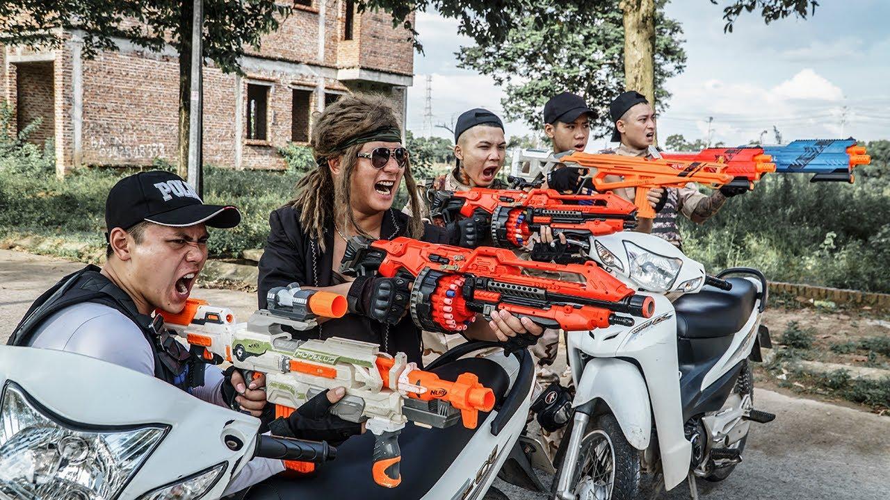 LTT Game Nerf War : Nerf Shooter On Patrol Warriors SEAL X Nerf Guns Fight Rocket Crazy