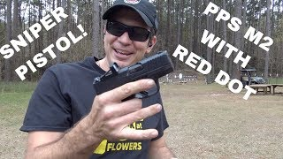 SNIPER PISTOL!  Walther PPS M2 with Shield RMSc Red Dot