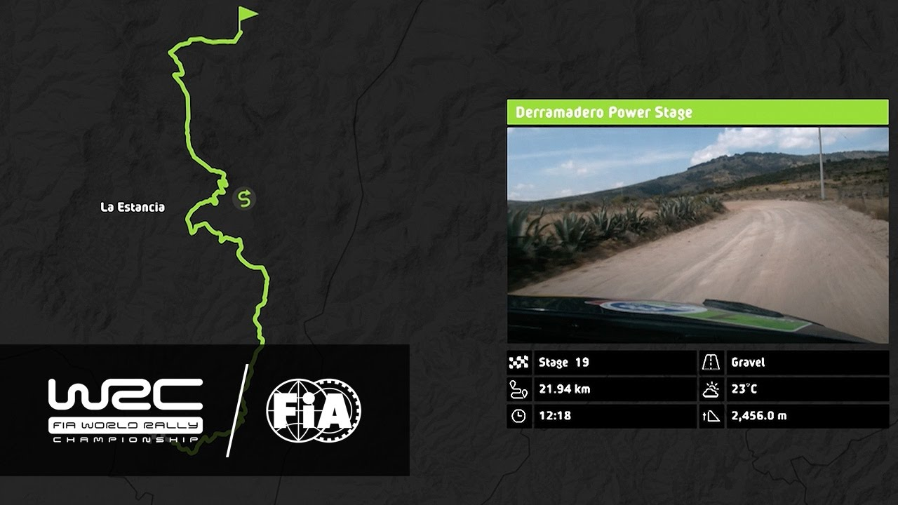 WRC Rally Guanajuato México The Stages YouTube - Wrc sweden 2015 map