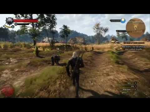 The Witcher 3: Wild Hunt PC Gameplay *HD* 1080P Max Settings