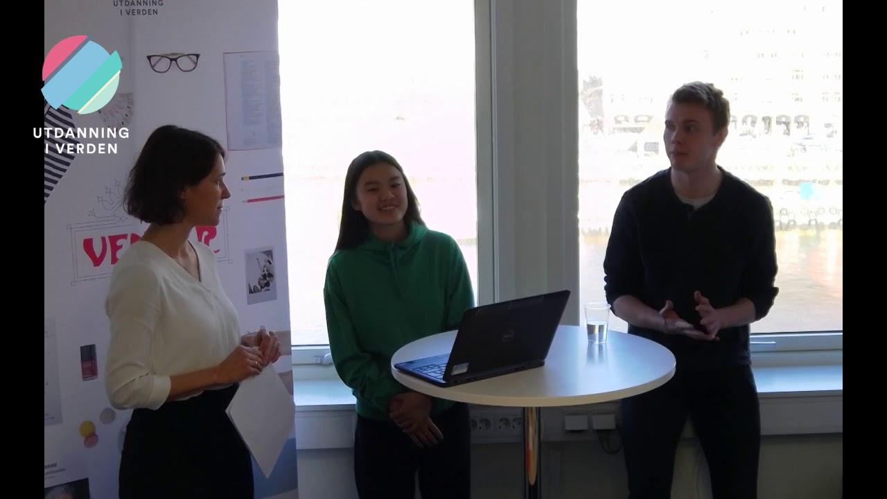 Informasjonsmøte om videregående i Frankrike