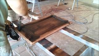 Cabinet refinishing - laminate
