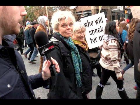 Environmentalists on edge at BC Kinder Morgan protest