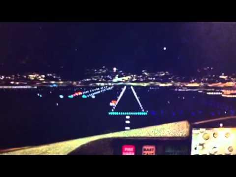ILS landing at Honolulu Intl