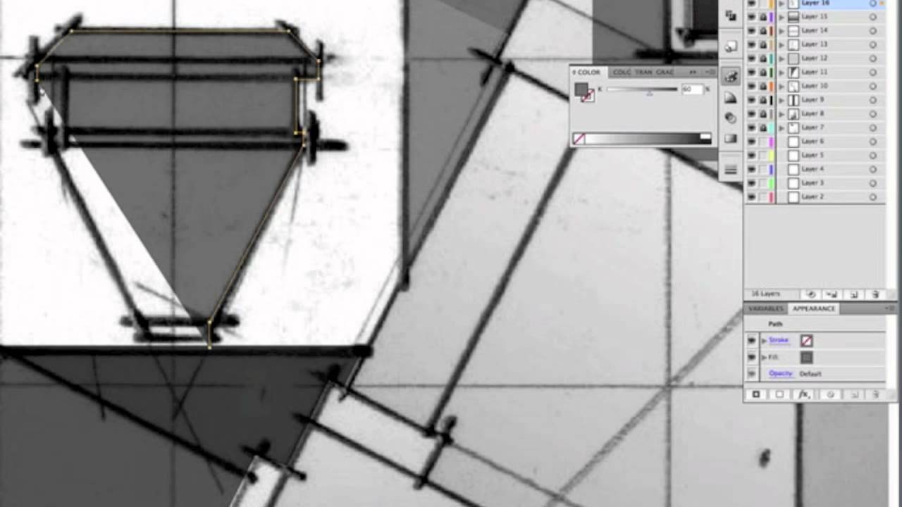 Architecture Drawing Illustrator an architect drawing with graphite, photoshop and illustrator