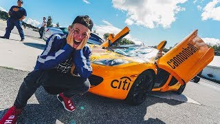 DRIVING MY FIRST MCLAREN! *BRAND NEW*