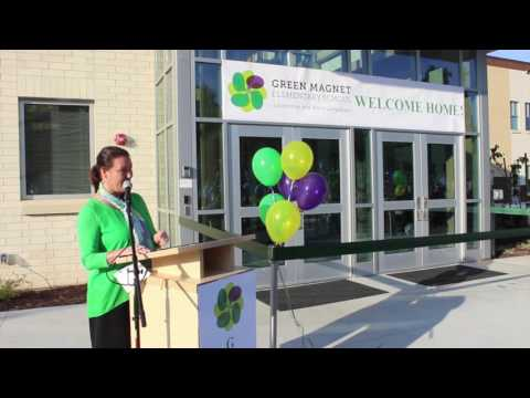 Green Magnet Elementary holds ribbon cutting for new building