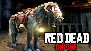Is The New Breton The Best Combat Horse?  Red Dead Online Frontier Pursuits Update