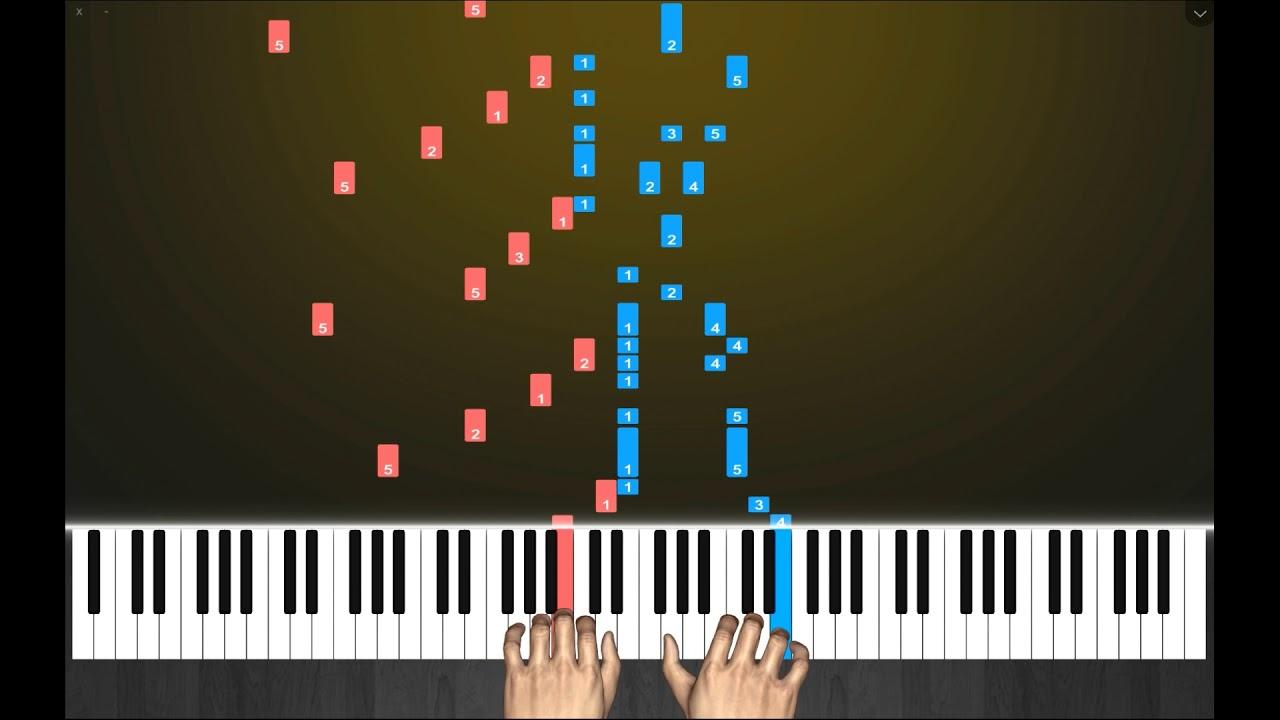 卡农电子琴教程_电子琴钢琴演奏经典钢琴曲《卡农》 - YouTube