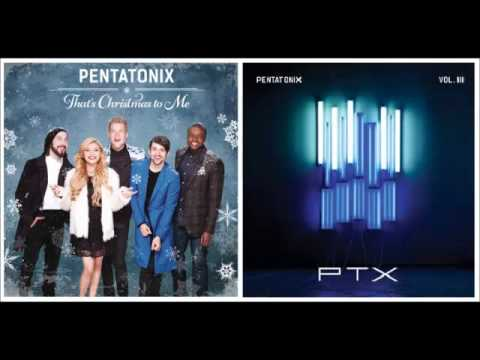 Rather Be vs. White Winter Hymnal PENTATONIX MASHUP