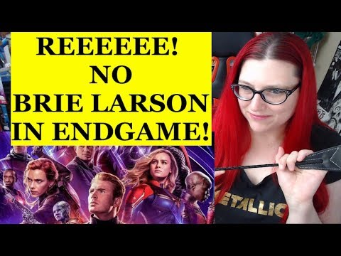 SJW Meltdown Over Endgame Cut WITHOUT Brie Larson!