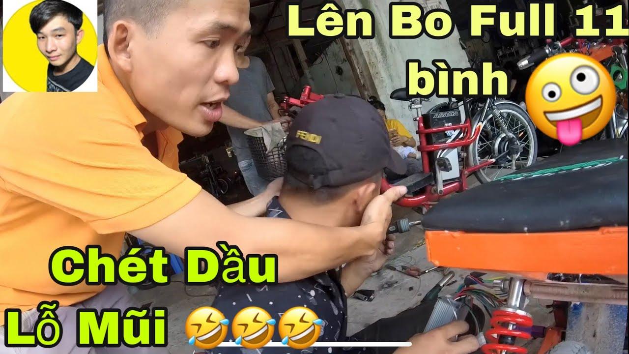 Lên Bo Sịn Full 11 Cho Xe Điện Độ 7 Bình Và Đo JBS