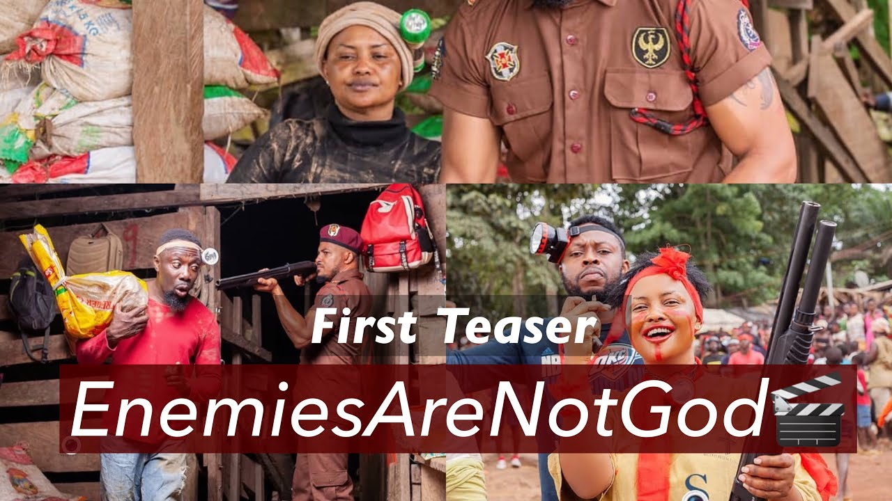 Download First Teaser For; Enemies Are Not God Movie 🎬.