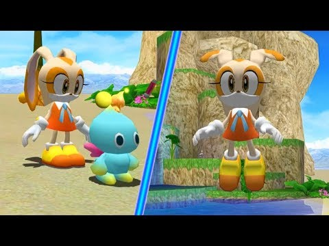 Cream The Rabbit In Sonic Adventure 2!