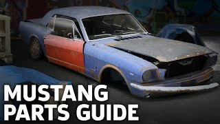 Need For Speed: Payback - 65 Mustang Derelict Parts Location Guide