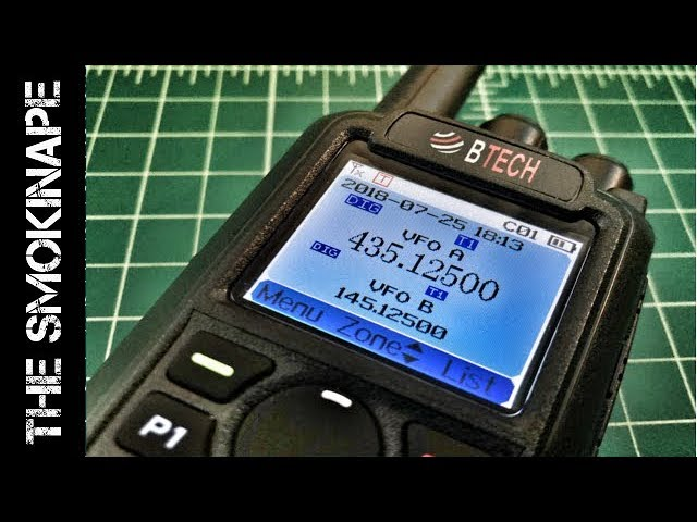 BTECH DMR-6X2 v1.01 Firmware Update - How To - TheSmokinApe