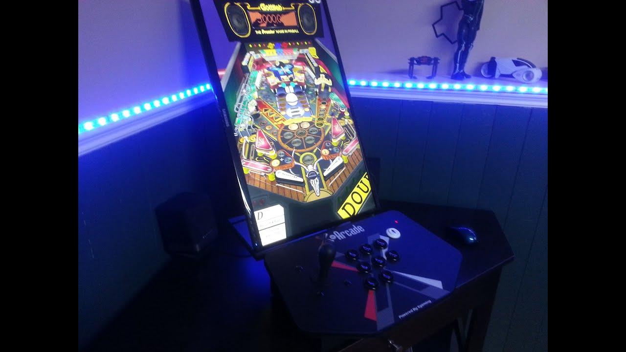 Pinball Arcade and X-Arcade in Action! - YouTube
