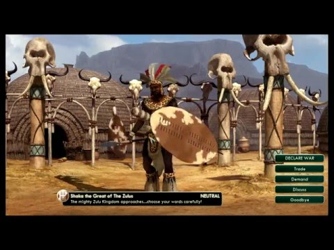 Sid Meier's Civilization V - Episode 2 Meeting The Competition |