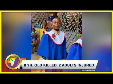8 Yr. Old Killed, 2 Adults Injured in Clarendon Jamaica   TVJ News - August 8 2021