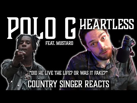 Country Singer Reacts To Polo G Heartless ft Mustard
