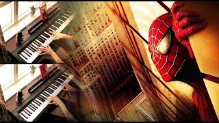 Download SPIDER-MAN 2 (Danny Elfman) - Main Titles Theme (Multi-Piano Cover) MP3 song and Music Video