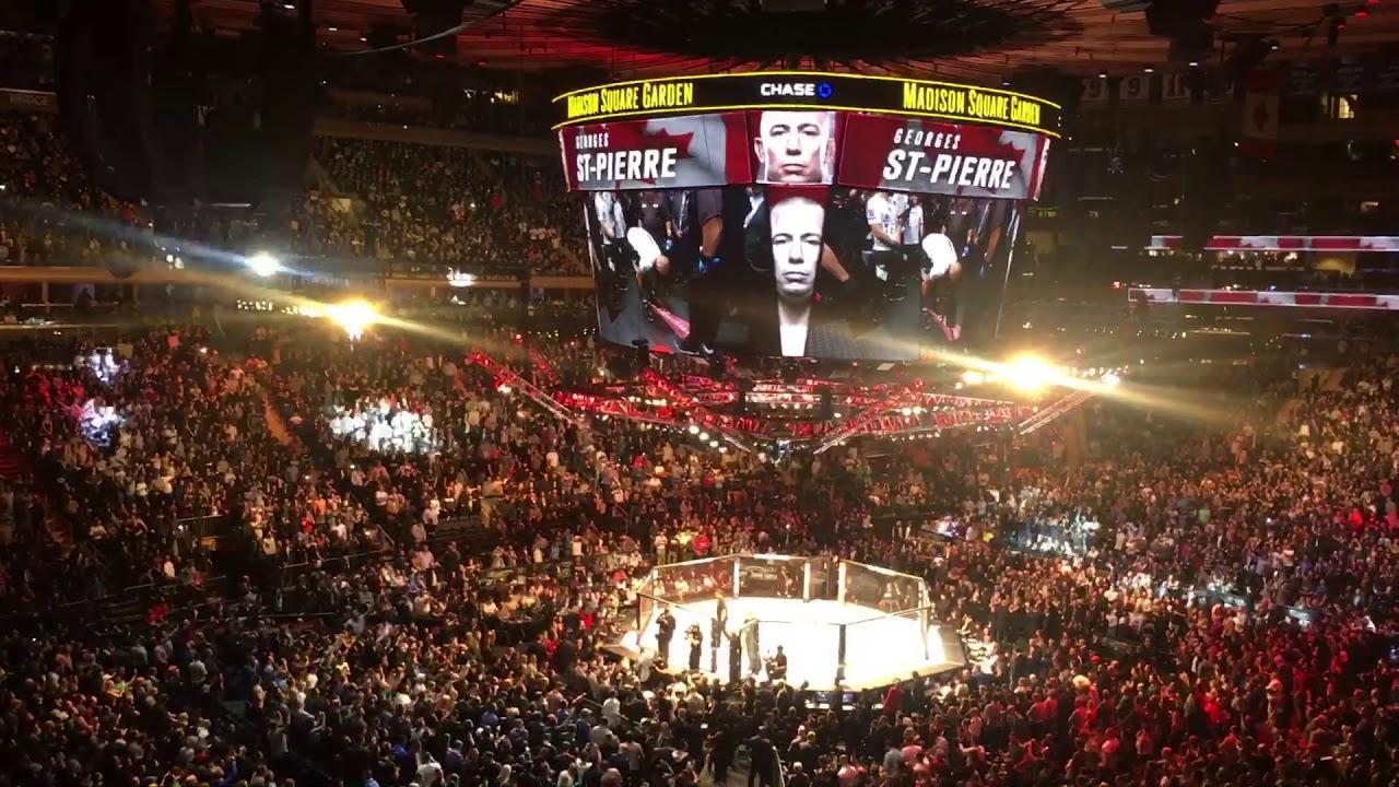 UFC 217 | GSP Entrance