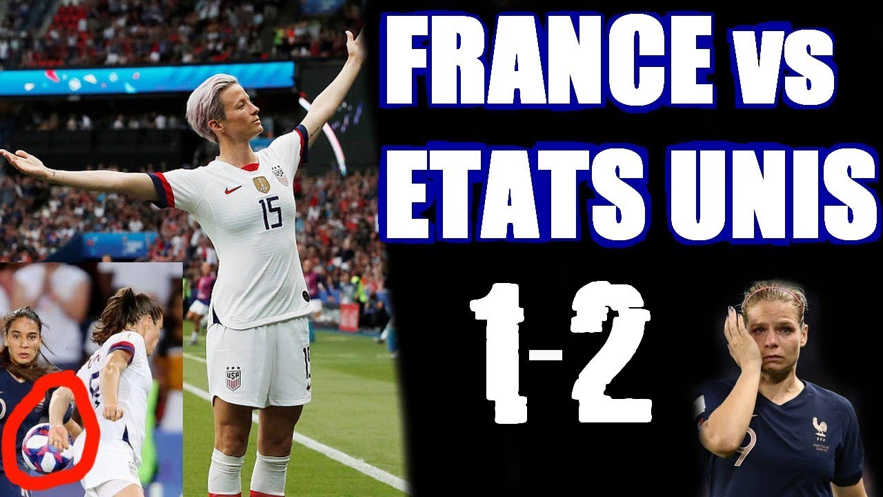 la france eliminee   france  etats unis 1-2 resume et debrief