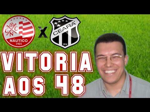 Gol De Náutico 1 x 0 Ceará (Aroldo Costa) Rádio Jornal Am - Série B - 15/10/2016