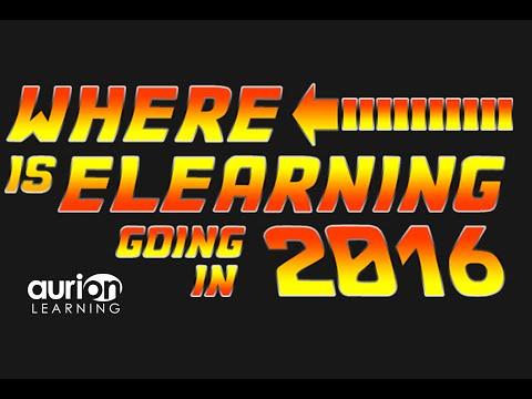 Webinar: E Learning Trends in 2016