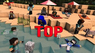 TOP 10 melhores intros de minecraft BR