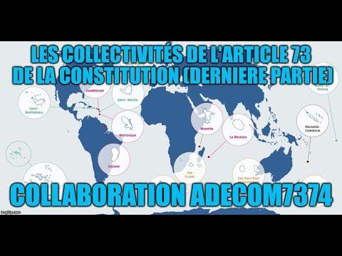 Collaboration ADECOM7374 – Les collectivités de l'art. 73C (3)