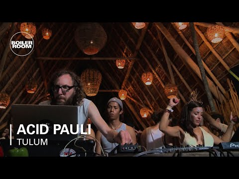 Acid Pauli Boiler Room Tulum DJ Set