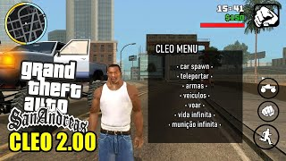 GTA SA 2.00 com CLEO Oficial - Android (LITE / NORMAL)