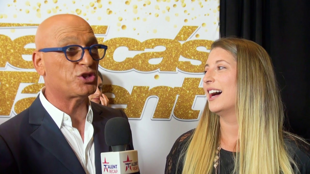 America's Got Talent: Howie Mandel Hilariously WALKS Out Of Interview W/ His Daughter 😂 | AGT 2018