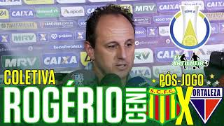 [Série B '18] Coletiva Rogério Ceni | Pós-Jogo Sampaio Corrêa FC 1 X 0 Fortaleza EC | TV ARTILHEIR⚽