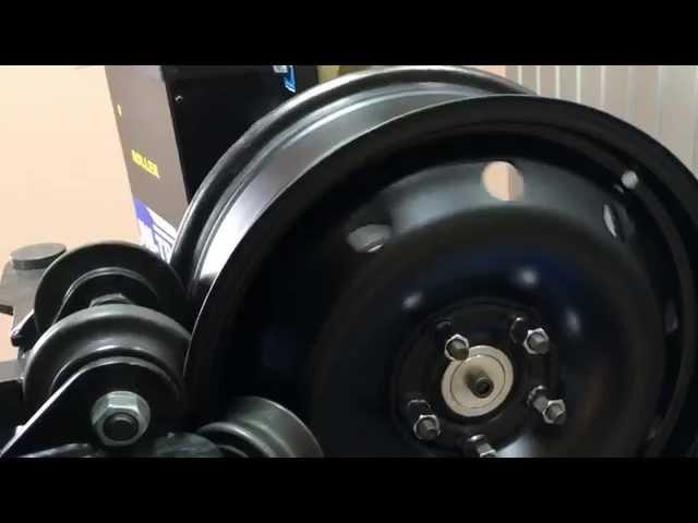 Uni-Troll Roller prostowanie felg stalowych
