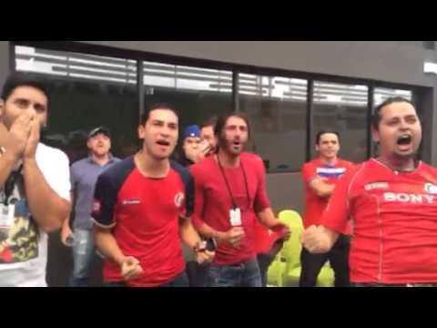 Costa Rica 3 - Uruguay 1 / Al Día celebra