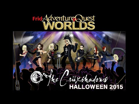 SaturdAy-QWorlds - October 31st - The CrüxShadows: The Ankh of Eternity