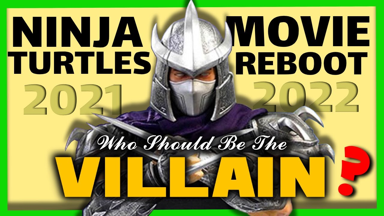 Who Should The Villain Be In Tmnt Movie Reboot Seth Rogen S