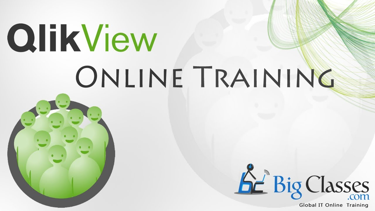 Qlikview Online Training - Qlikview Video Tutorials - BigClasses