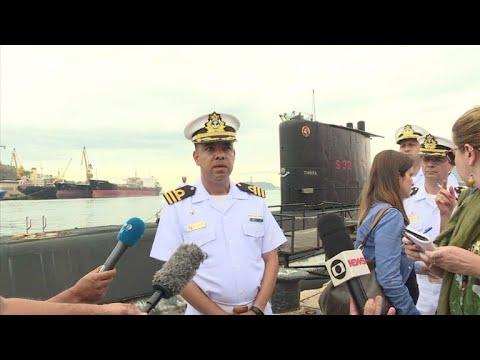 Capitão brasileiro: ainda pode haver oxigênio em submarino