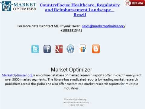 Pharmaceutical and Medical Device Industry in Brazil - Forecasts & Analysis to 2020