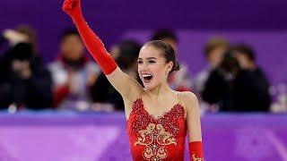 ALINA ZAGITOVA Olympic FS rus en subs Олимпиада 2018 с переводом комментариев французов