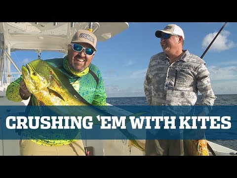 Florida Sport Fishing TV Crushing 'Em With Kites